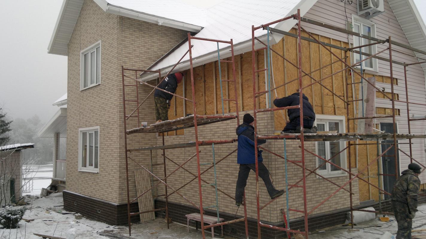 Отделочные работы в доме - виды отделки, стоимость работ.