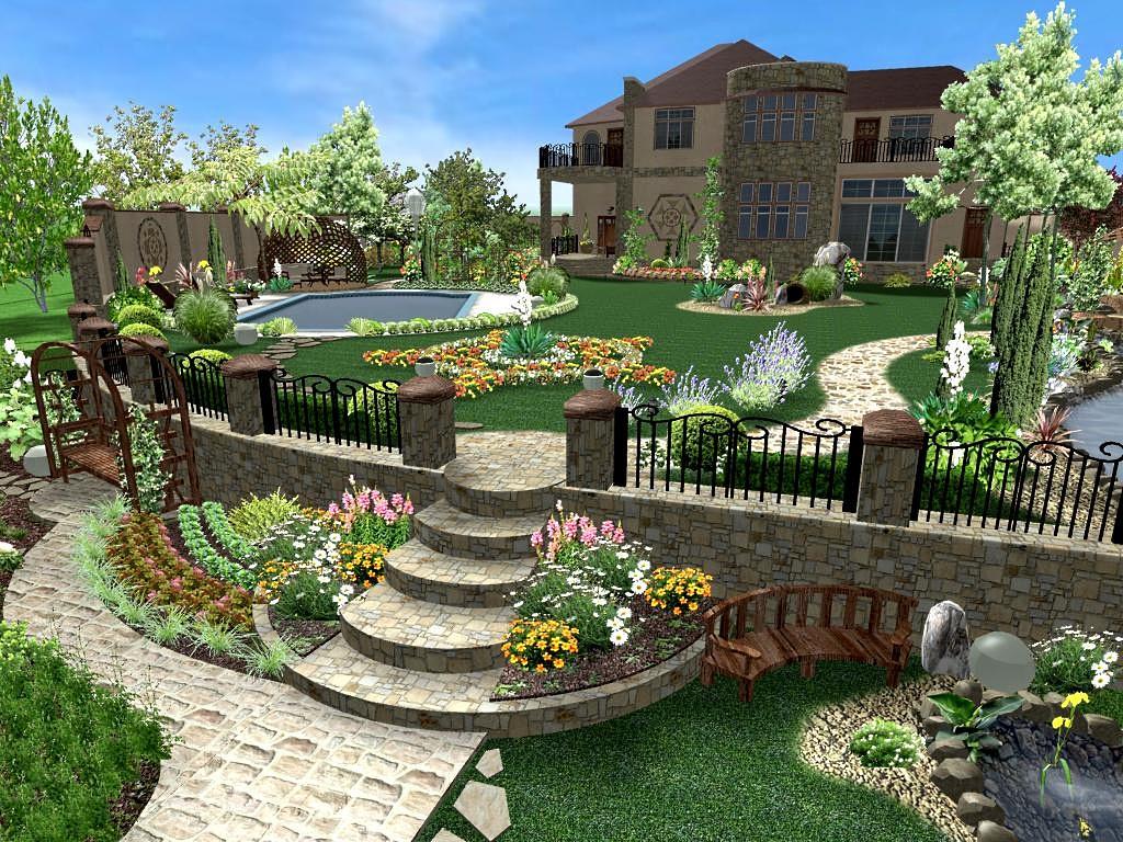 Пример ландшафтного дизайна